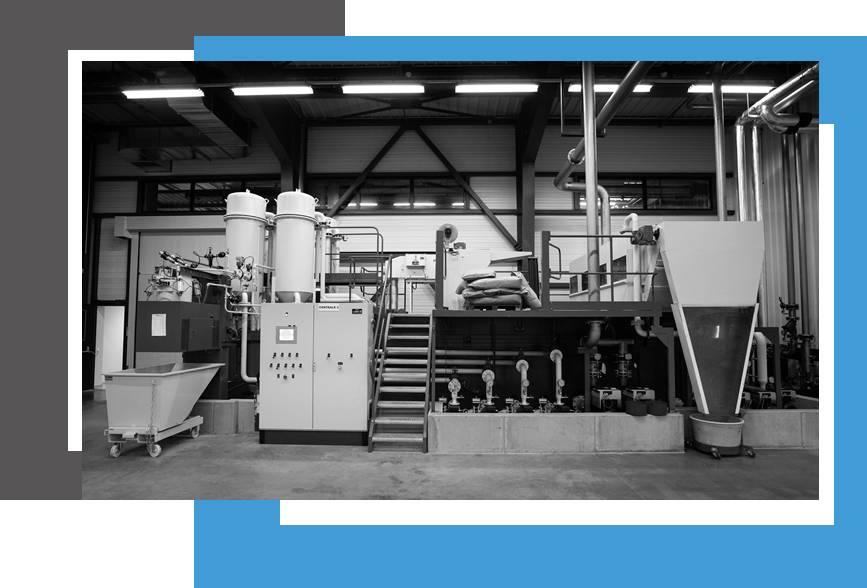 centrale de filtration de liquide, fluide de coupe, huile PROMATEC