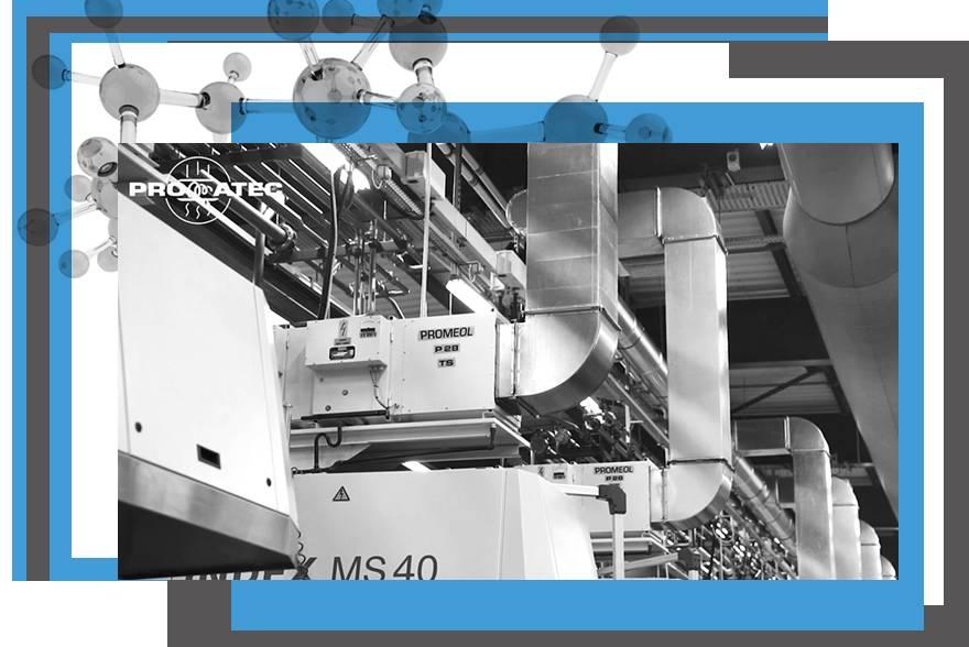Système apport air frais, rafraîchissement air atelier industriel