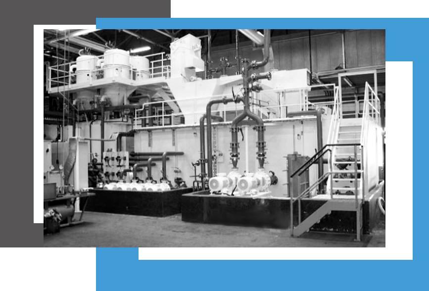 centrale de filtration de liquide et fluide de coupe, huile PROMATEC