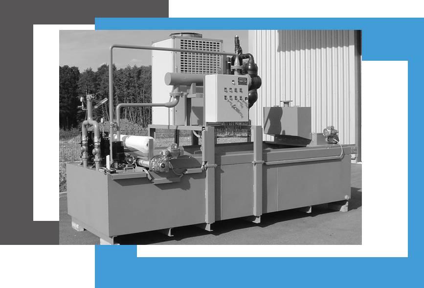 fabricant filtre à déroulement industriel pour filtration liquide