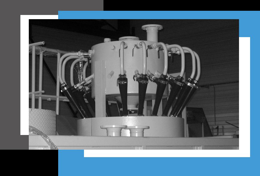 fabricant hydrocyclone purification liquide aqueux