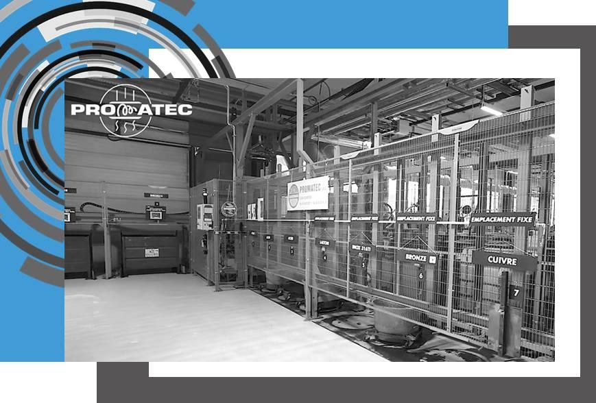 système de traitement des copeaux d'usinage Proflex Promatec