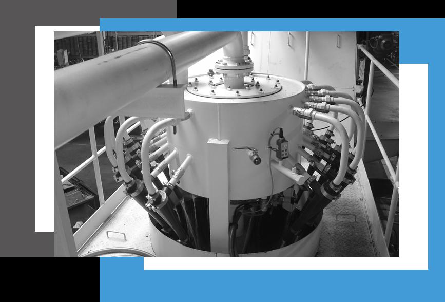 système de traitement de liquide aqueux, hydrocyclone
